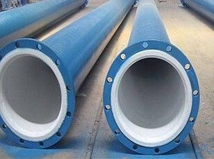 Steel Pipe Lined with Rubber Pipe