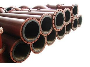 Rubber Composite Steel Pipe
