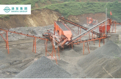 Sand making plant in Indonesia