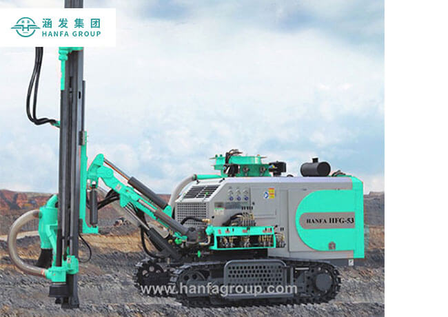 HFG-53 Integrated DTH Drilling Rig